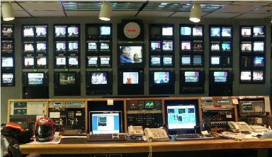 KNBSTV VIDEO CONTROL ROOM